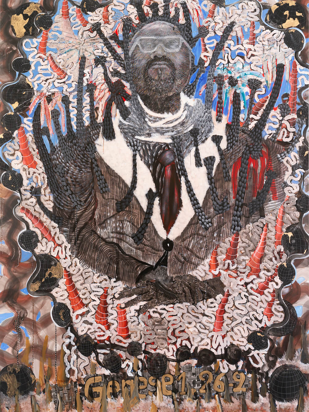 omar ba, templon gallery, art and about africa, contemporary african art, artmap, african art map, art map africa