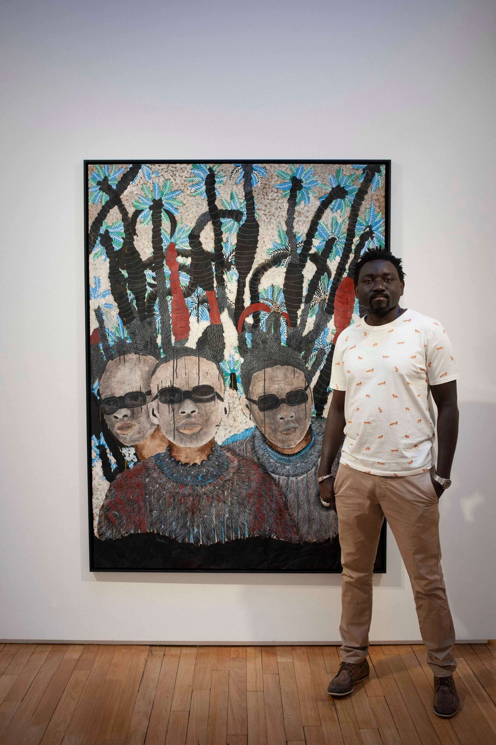 omar ba, thea chevalin, art and about africa, contemporary african art, artmap, african art map, art map africa