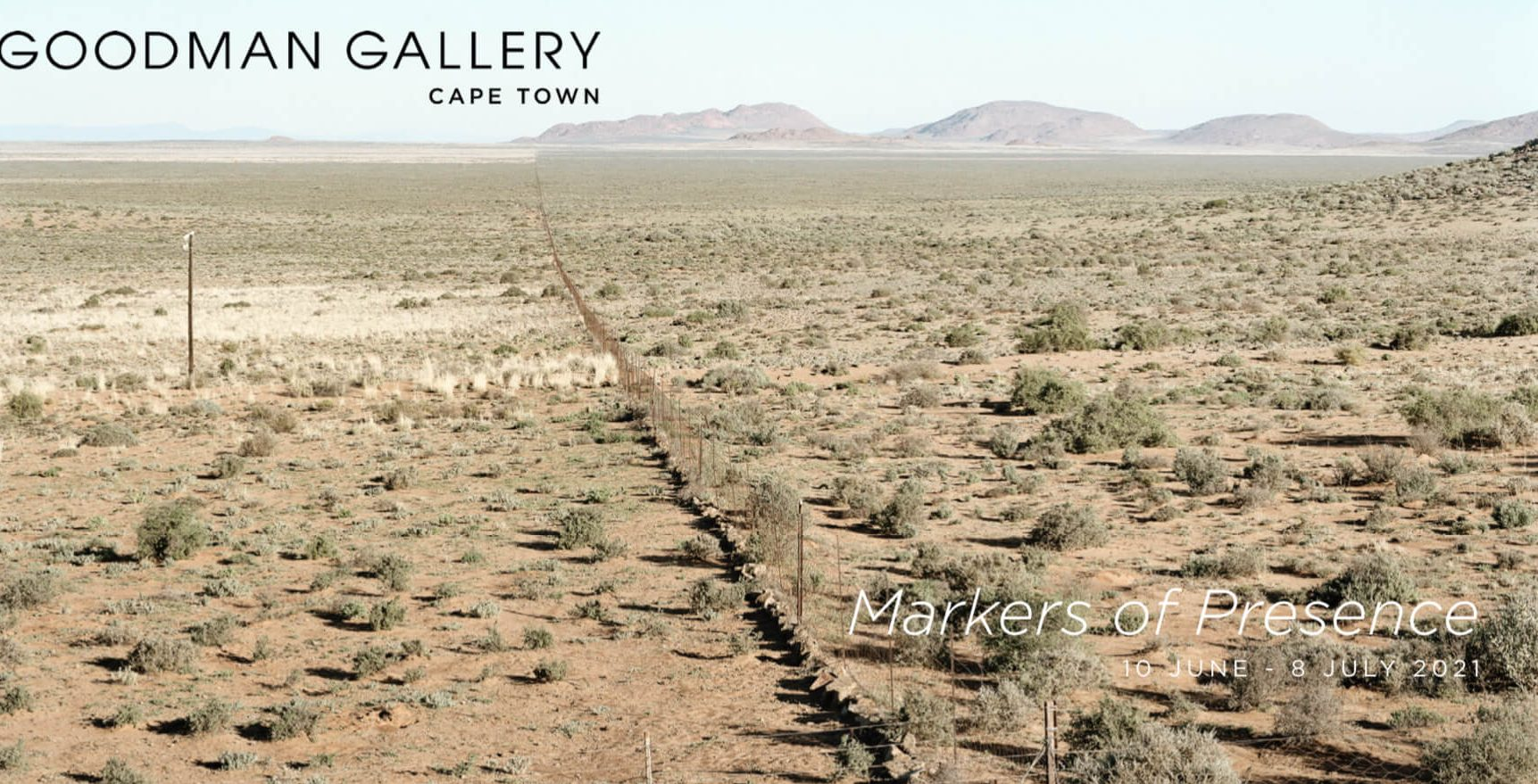 David Goldblatt: Markers of Presence / Goodman Gallery Cape Town, and About Africa